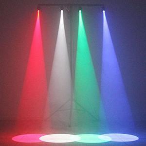 RGBW LED Stage Lighting  Pinspot Stage Effect LED Wash Spotlight Mini Stage Light DJ DISCO Party KTV Backlight Stage Light