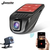 Jansite Car DVR Wifi Mini Car Cameras Full HD 1080P Dash Cam Registrator Video Recorder Camcorder support 24 hours monitoring