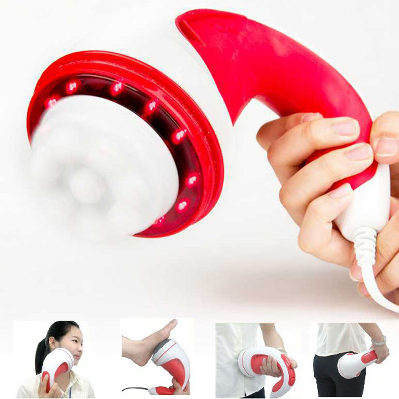 Electric infrared fat burner Full Body Massager Relax Relax Tone Spin Slimming Lose Weight Burn Fat Body Massage Device tools pop relax electric vibrator jade massager light heating therapy natural jade stone body relax handheld massage device massager
