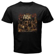 8d4dc68c5672 Grave - As Rapture Comes Death Metal Band Men's Black T-Shirt Size S-3XL