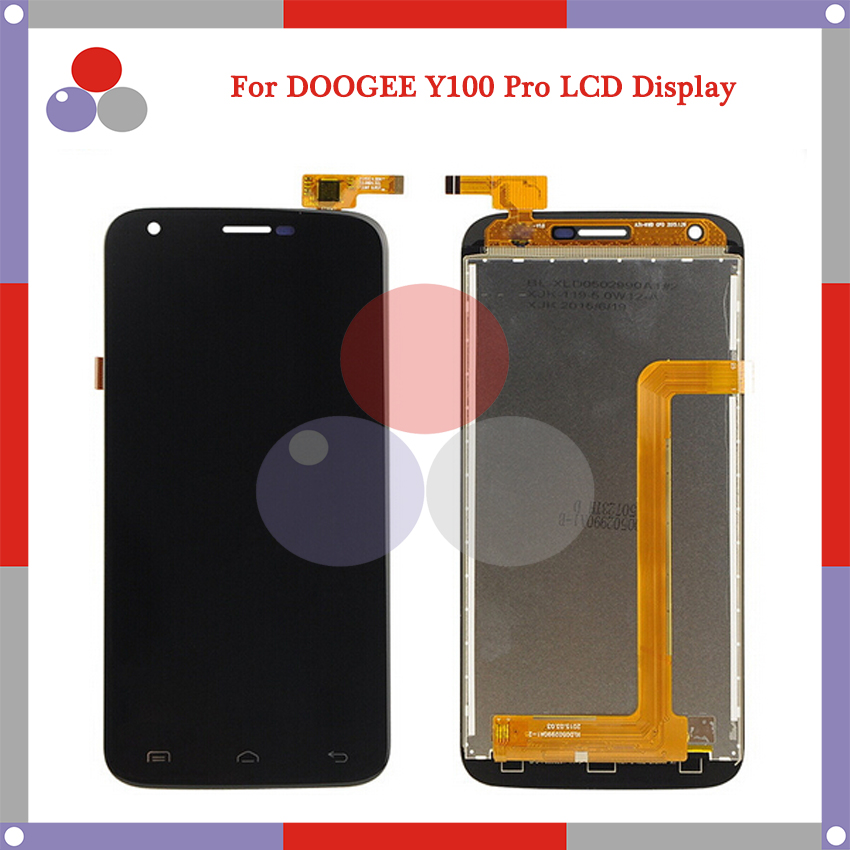 AAA Highest quality For DOOGEE Valencia2 Y100 LCD Screen Display Touch Screen Digitizer Assembly Free Shipping