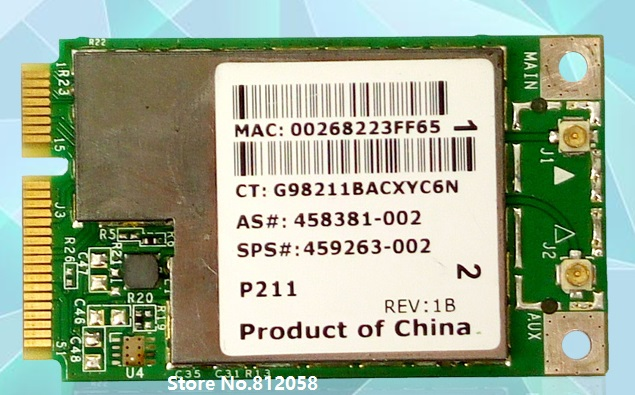SSEA New for Broadcom 4312 Bcm4312 Bcm94312MCG Wireless Mini Pci-e Card for HP SPS 459263-001(China)