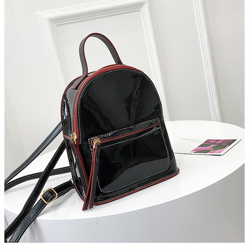 Miyahouse New Arrival Fashion Women Laser Backpacks Candy Color Summer  Backpack For Teenage Girls Mini School Bag 1c28fefc24