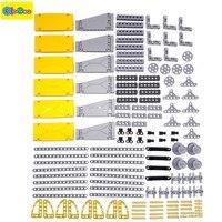 New 138pcs MOC Building Blocks Technic Parts Pieces Diy Kit Toy Bricks Educational Toys Child Designer