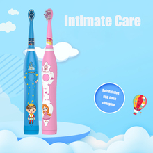 Motor-driven Intelligence Toothbrush Electric Type Acoustic Wave Waterproof Children Baby Household Automatic adult