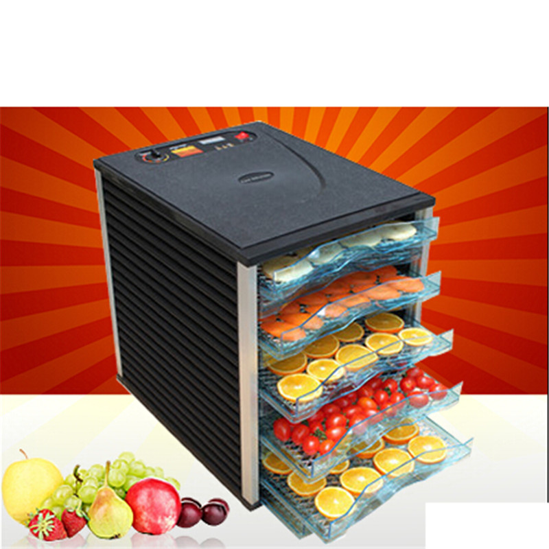 6 Trays Food Dehydrator Fruit Vegetable Herb Meat Drying Machine Snacks Food Dryer Fruit dehydrator shanghai kuaiqin kq 5 multifunctional shoes dryer w deodorization sterilization drying warmth