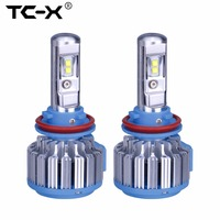 Super Bright LED Car Headlights H7 H8 H11 H1 HB3 9005 HB4 9006 H3 880 35W
