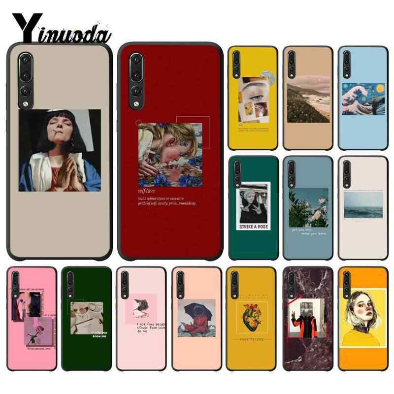 Yinuoda Great art van Gogh Mona Lisa painting David Phone Case for Huawei P9 P10 Plus Mate9 10 Mate10Lite P20 Pro Honor10 View10