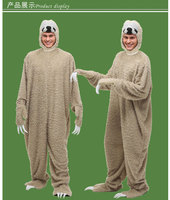 New Bayi Cosplay Costume Adult Kids Cartoon Fun Halloween Costume Sloths Festival Party Costume High Quality