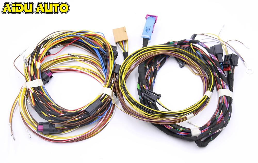 Keyless Entry Kessy system cable Start stop System harness Wire Cable For VW Passat B7 CC keyless entry kessy system cable start stop system harness wire cable for vw passat b7 cc