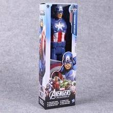 Marvel The Avengers Spiderman Captain America Iron Man PVC Action Figure
