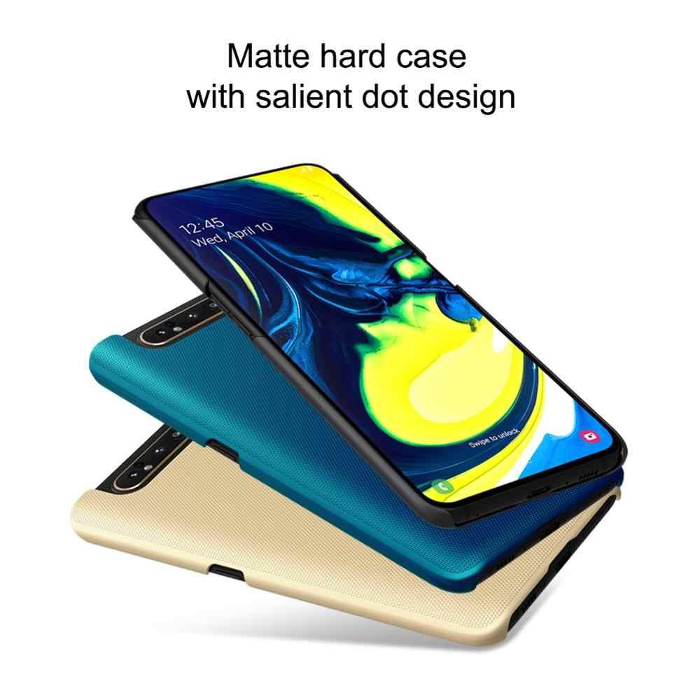 Samsung A80 A90 5G durumda Nillkin süper buzlu kalkanı arka kapak Samsung kılıfı Galaxy A70 A50 A60 A40 A30 A20 a20e 10 kılıf