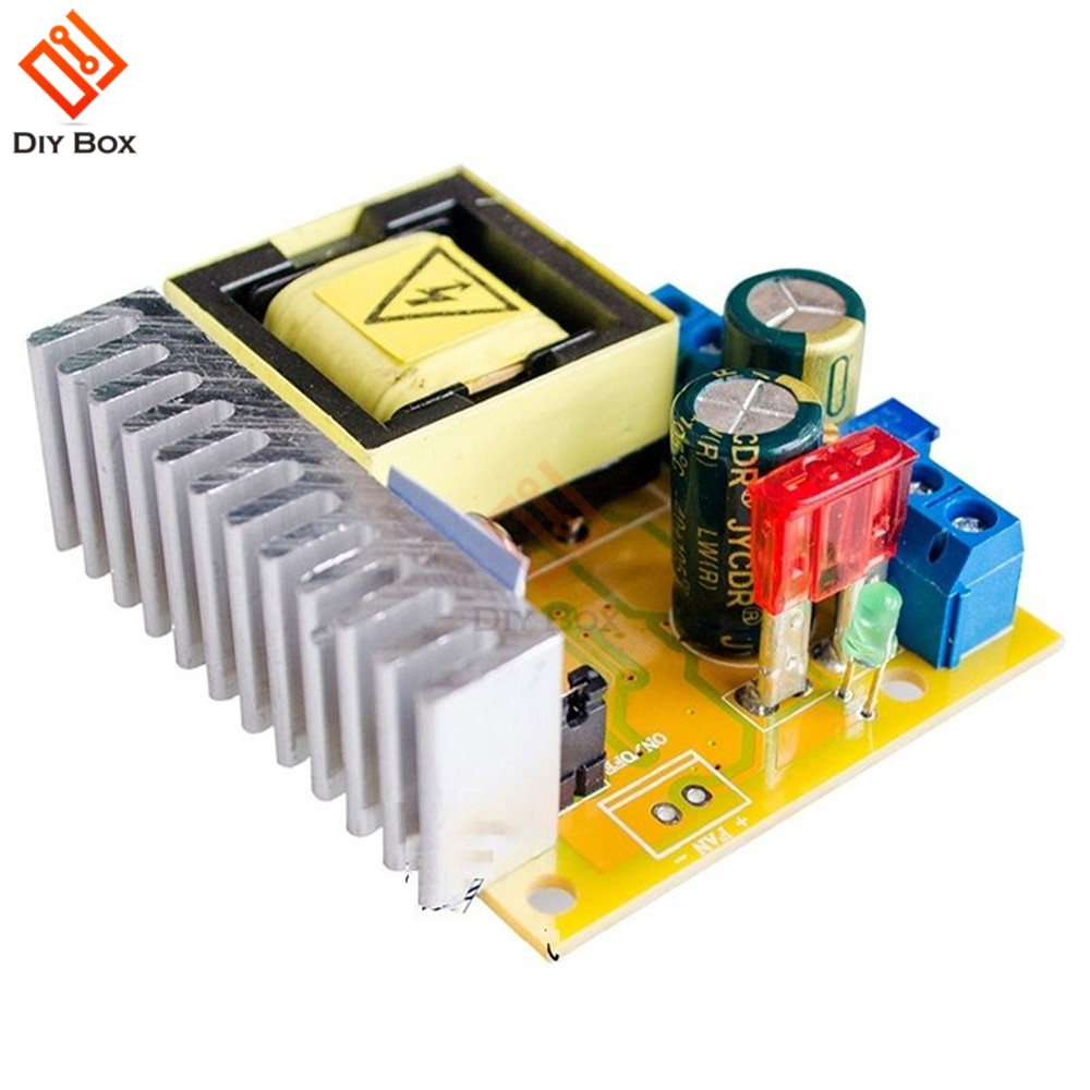DC-DC 8-<font><b>32V</b></font> to 45V-390V Step Up Booster Voltage Converter Power <font><b>Transformer</b></font> ZVS High Voltage Capacitor Charge Board image