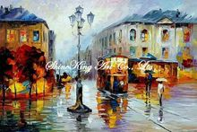 palette knife oil painting  modern oil painting canvas oil painting  K478