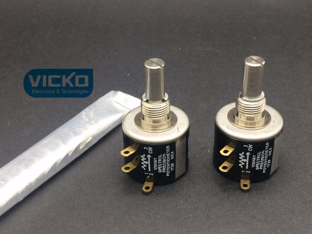 Vishay MOD534 spectrol UK | 534-1, précision 534 multi-tour, potentiomètre à boucles 10 tours, commutateur 1K 2K 5K 10K