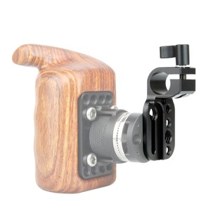 """Image 5 - NICEYRIG Mini Quick Release Plate 15mm Rod Clamp for 1/4"""" 3/8"""" Cheese Plate Bracket Camera Rig Clamp Cold Shoe Microphone Stand"""
