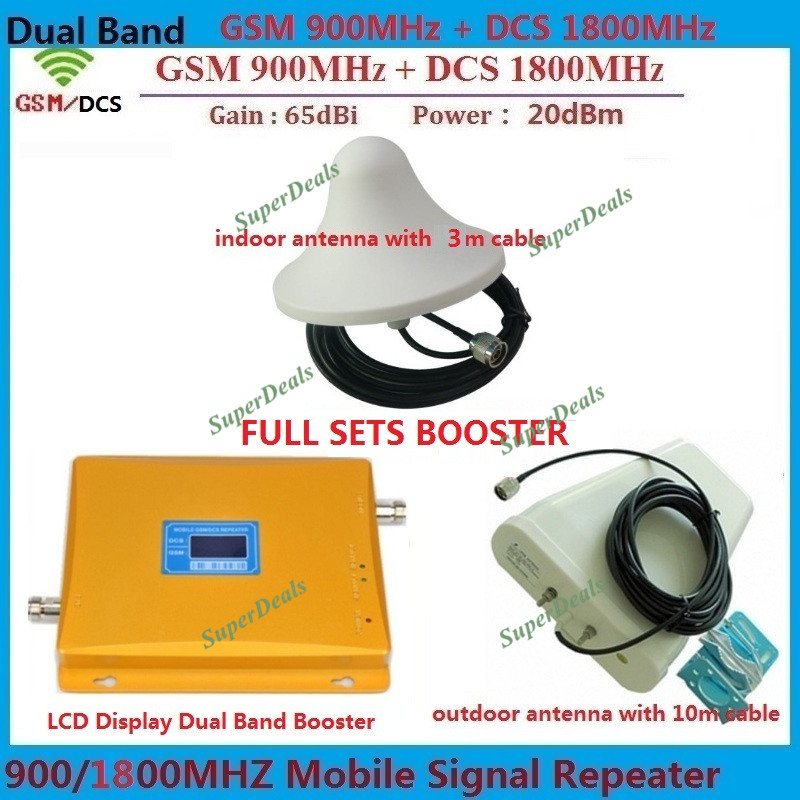 900 1800MHz LTE 4G Repeater GSM Cellular Signal Booster DCS Mobile Signal Repeater amplifiers + 4g antenna + coaxial cable900 1800MHz LTE 4G Repeater GSM Cellular Signal Booster DCS Mobile Signal Repeater amplifiers + 4g antenna + coaxial cable