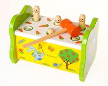 Exempt postage, children's puzzle games, toys, wooden percussion toys, parent-child interaction blow air