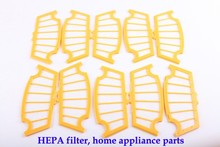 (For A320,A325,A335,A336,A337,A338) HEPA Filter for Robot Vacuum Cleaner, 10pcs/ pack, Home Appliance Parts цена и фото