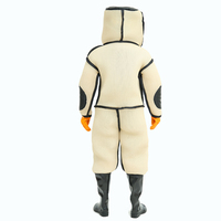 BEE.NO.1 Beekeeping New Style Anti Wasp Suit With Mask & Boots & Gloves with Fan Beekeeping Suit Specialized For Defending Wasp