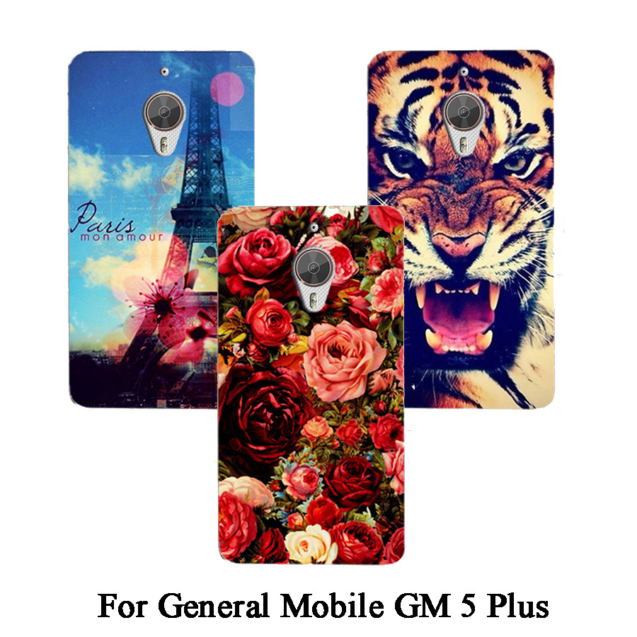 For General Mobile GM 5 Plus Phone Case HOT Fashion DIY Painted colorful phone case protective cover For General Mobile GM5 Plus image