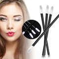 100 pcs /lot Pro Disposable Lip Brush lip Stick Lip Gloss Rod Super Soft Cosmetic Brush Sets Makeup Brushes For Lips Beauty Tool