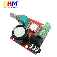 Small Digital Audio Amplifier 12 Volt Board 10W 10W Two Channel PC Power Amp Class D