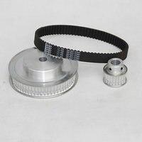 Engraving Machine Parts Synchronous Belt Pulley Synchronous Belt Synchronous Belt Deceleration Kit 5M 3 1