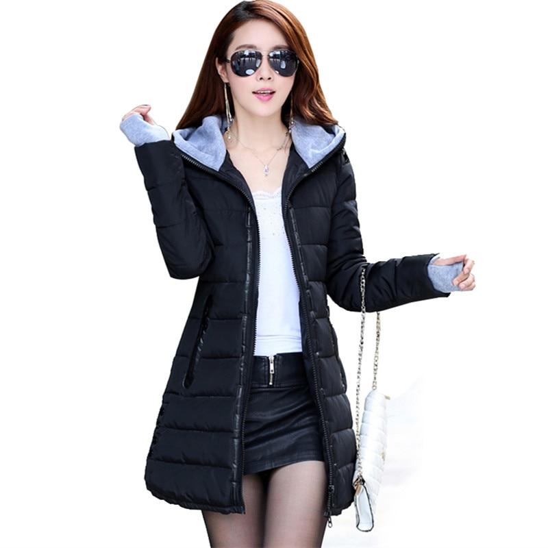 ФОТО Buttons women's coats sobretudo feminino casacos de inverno feminino anorak parka mujer winter gloves coat autumn jacket women