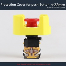 Protection Cover for 22mm Plastic Push Button Switch Avoid Wrong Pressing Warning Cover