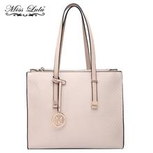 Miss Lulu Brand Women Shoulder Bag Handbags Designer M PU Leather  Top-handle Bags Large 2f5676a67d8ef