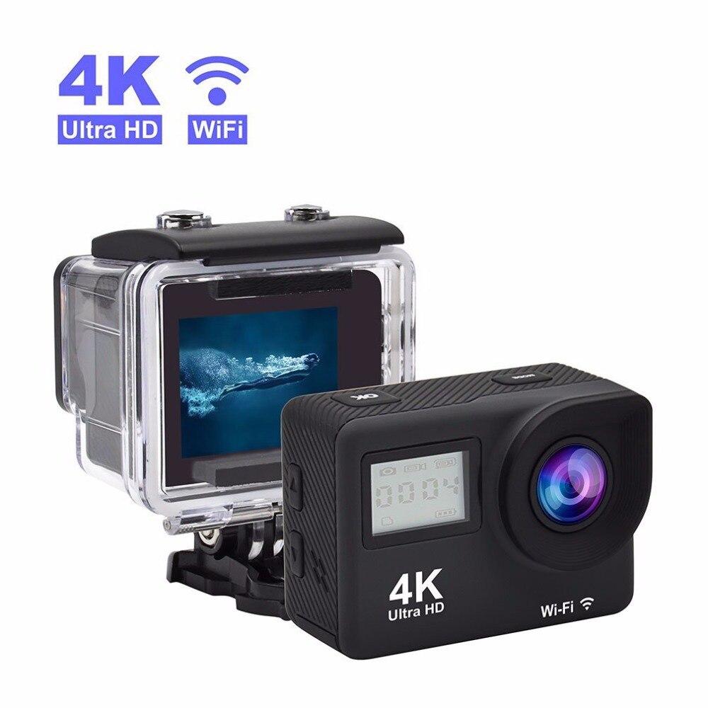 Dveetech 4K Wifi font b Action b font Camera Waterproof 30M 1080p Full HD Sports Underwater