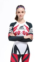 2017 Brand Women Cycling Jersey white red black Bicycle Long Sleeves Mountain MTB Jersey quality ladies biker Clothing Shirts