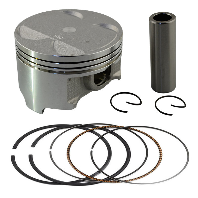 Motorcycle Engine parts STD Cylinder Bore Size 83mm Pistons & Rings Kit For SUZUKI DR350 DR 350 1990-1999 цена и фото