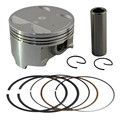Motorcycle Engine parts STD Cylinder Bore Size 83mm Pistons & Rings Kit For SUZUKI DR350 DR 350 1990-1999