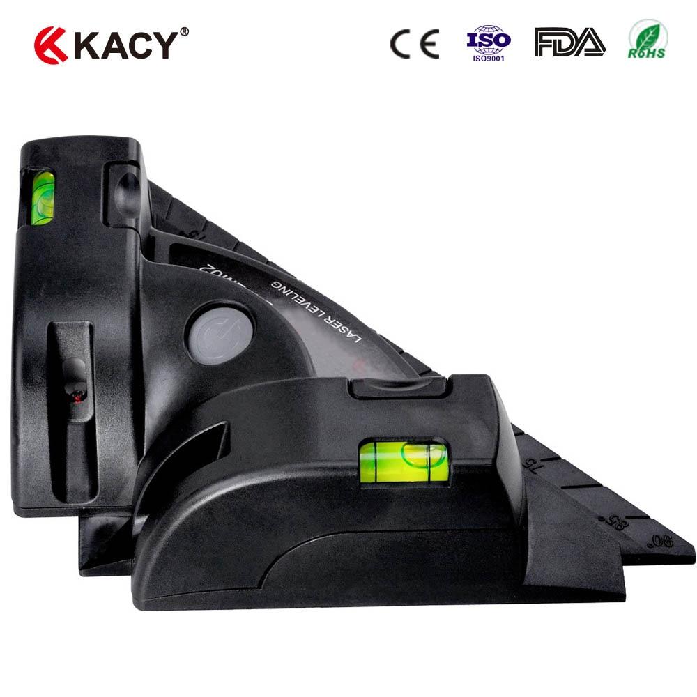 """""""kacy 1pc"""" matavimo įrankiai 90 laipsnių vertikalios horizontalios linijos lazerio lygio projekcija"""