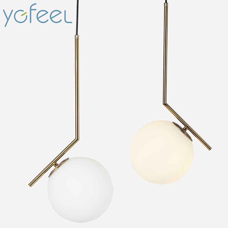[YGFEEL] Pendant Lights Modern Bedroom Pendant Lamp Dining Room Living room Decoration Lighting Hotel Room Light E27 AC90-260V r54 hotel room