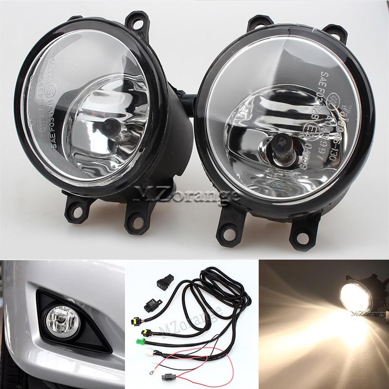 Fog Light Front Bumper font b Lamp b font Switch H11 Bulbs For TOYOTA AVENSIS AURIS