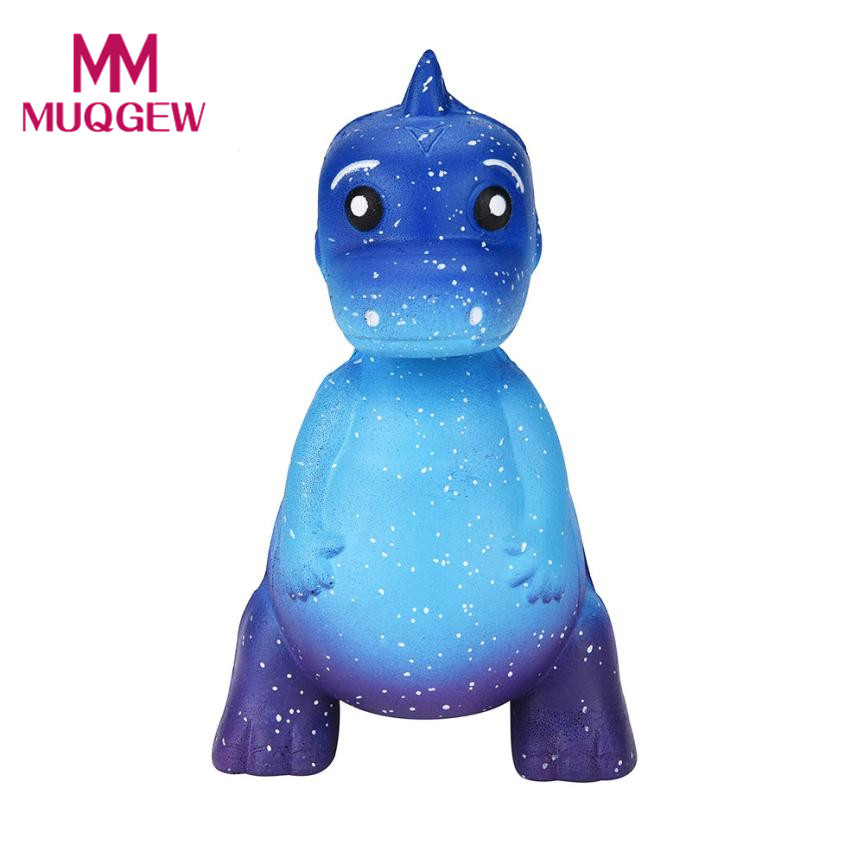 Drop shipping Relieve Stress Galaxy Dinosaur Cute Rex Jumbo Squishy Jumbo Scented Cream Super Slow Rising Squeeze Toys oyuncak