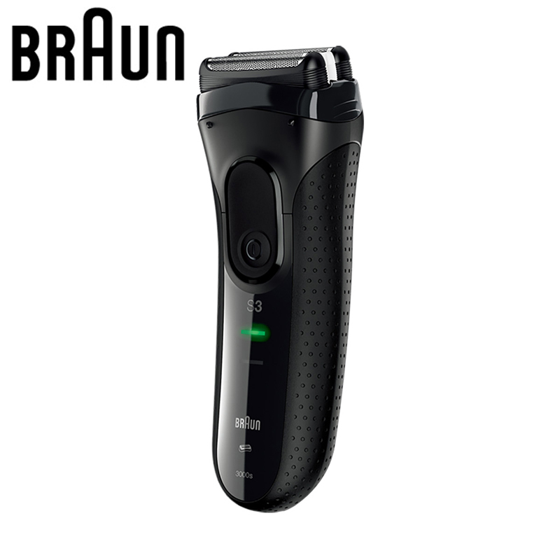Braun Electric Shavers 3000S Razor Blades Rechargeable High Grade Series 3 Electric Razors For Men braun electric shavers 5030s rechargeable reciprocating blades high quality shaving safety razors for men