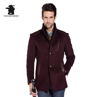 Winter New Mens Wool Pea Coat Designer High Quality Plus Size Wool Coat For Men Pull