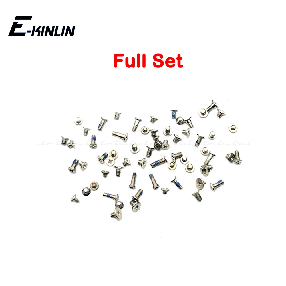 Bottom Dock Screw Complete Screws Full Set Replacement Repair Parts For IPhone 6 6S Plus