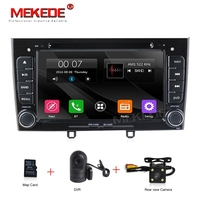 Cheap price 2Din Car GPS navigation for Peugeot 308 408 support Car dvd radio audio Bluetooth FM AM 1080P video player camera