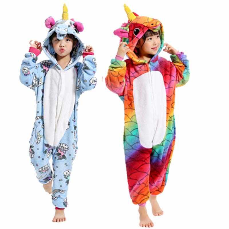 15a84ce0cfe2 Новый Хэллоуин Костюмы для косплея Аниме Костюмы единорог пижамы мультфильм  пижамы панда Тигра Пикачу Тоторо для