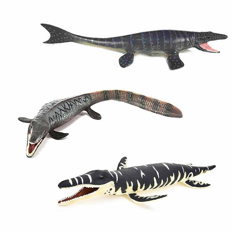 Бесплатная доставка морские динозавры Mosasaurus Динозавры юрского периода модель животного Фигурки ПВХ обучающая игрушка