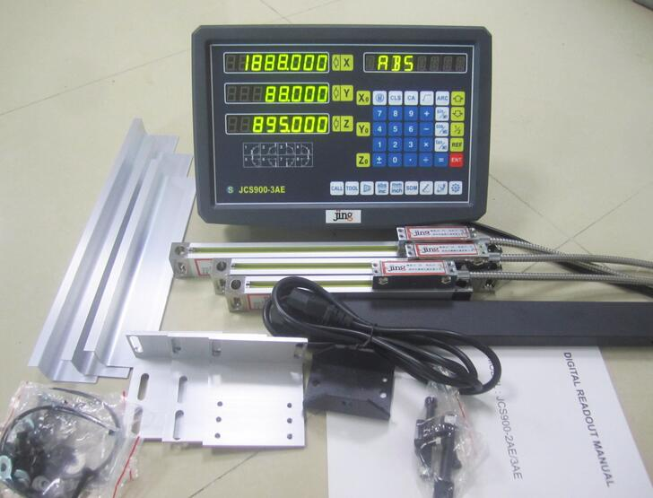 High Accuracy 3 Axles Linear Scale DRO Linear Sensor Digital Readout 500&650&600mm for Wire Cutting Machine  цены