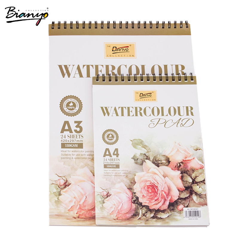 Bianyo A3/A4 Sketchbook Painting Pad Art Accessory For Diary Office Drawing Stationary School&Office Sketch Pad Artist's Supply it8712f a hxs
