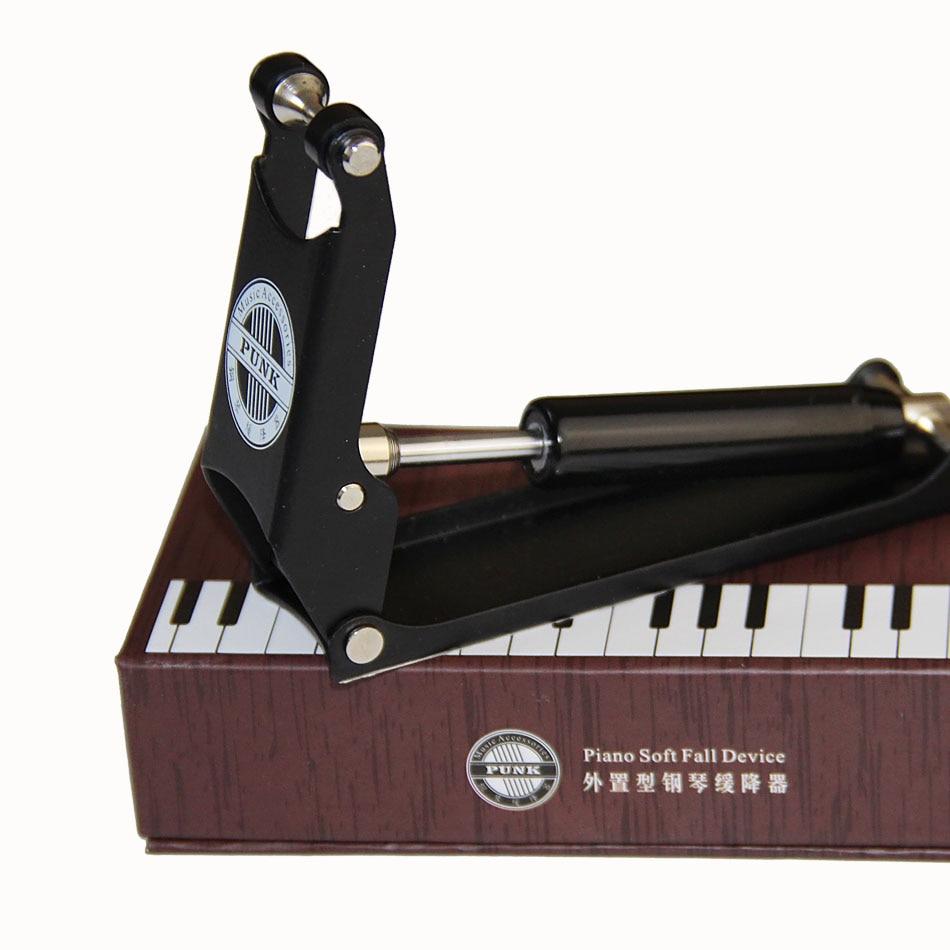 Punk Piano Accessories Black Ultra-thin Piano Slow Soft Fall Device Hydraulic Pressure Fallboard Decelerator акустика центрального канала vienna acoustics theatro piano black