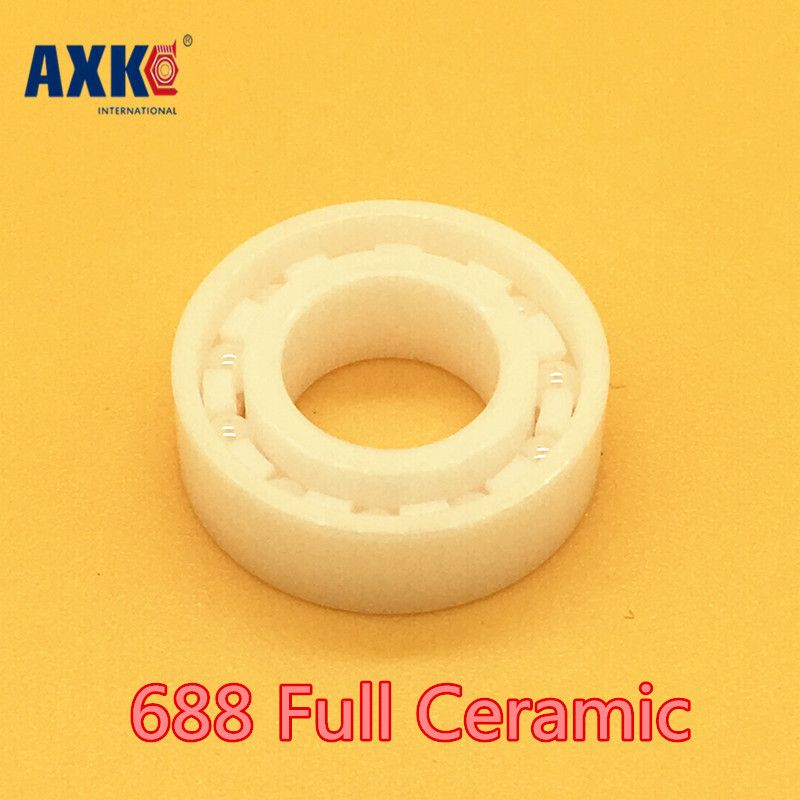 Axk 688 Full Ceramic Bearing ( 1 Pc ) 8*16*4 Mm Zro2 Material 688ce All Zirconia Ceramic 618/8 Ball Bearings 628 full ceramic bearing 1 pc 8 24 8 mm zro2 material 628ce all zirconia ceramic ball bearings