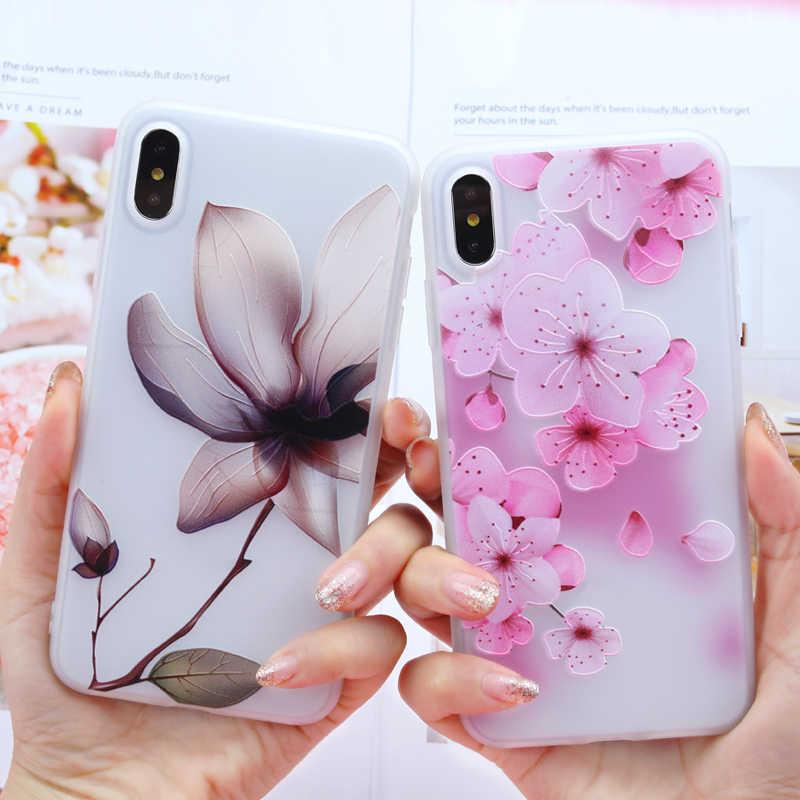 Чехол для iPhone 11 Pro Max X XR XS Max 7 6 6S 8 Plus 5 5S SE чехол для samsung Note 10 Plus S7 Edge S8 S9 S10 Plus цветочный чехол